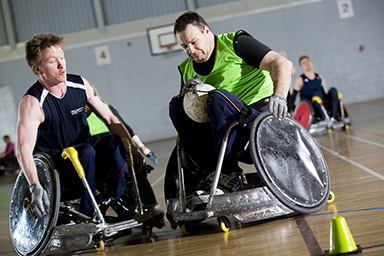 Sport England - Wheelchair Rugby photos
