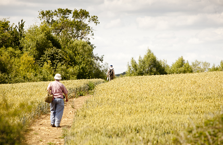 Cotswold walkers by Adam Gasson