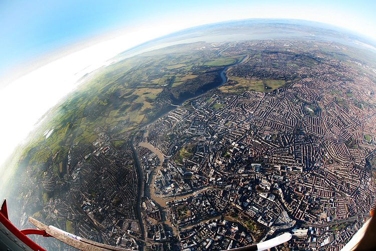 Bristol aerial photograph by Adam Gasson.
