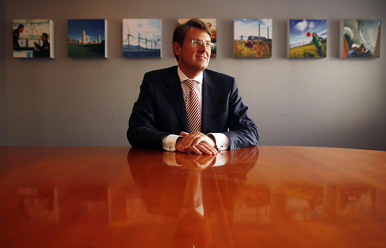 Volker Beckers, Chief Executive of RWE npower by Adam Gasson