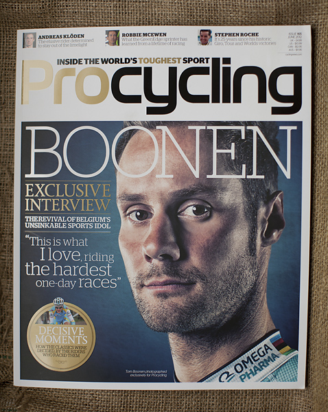 Tom Boonen Pro Cycling cover by Adam Gasson