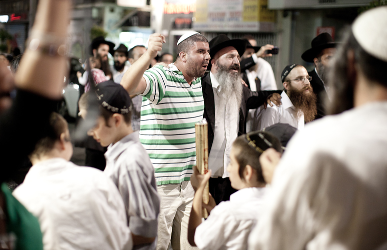 Orthodox Jews in Tel Aviv, Israel by Adam Gasson.