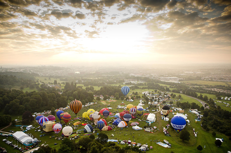 Bristol International Balloon Fiesta by Adam Gasson for Camera Press