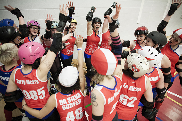 The Harbour Harlots B take on Wolverhampton Honour Rollers at WISE Campus, Filton