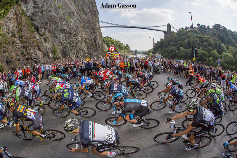 Tour of Britain passes through Bristol
