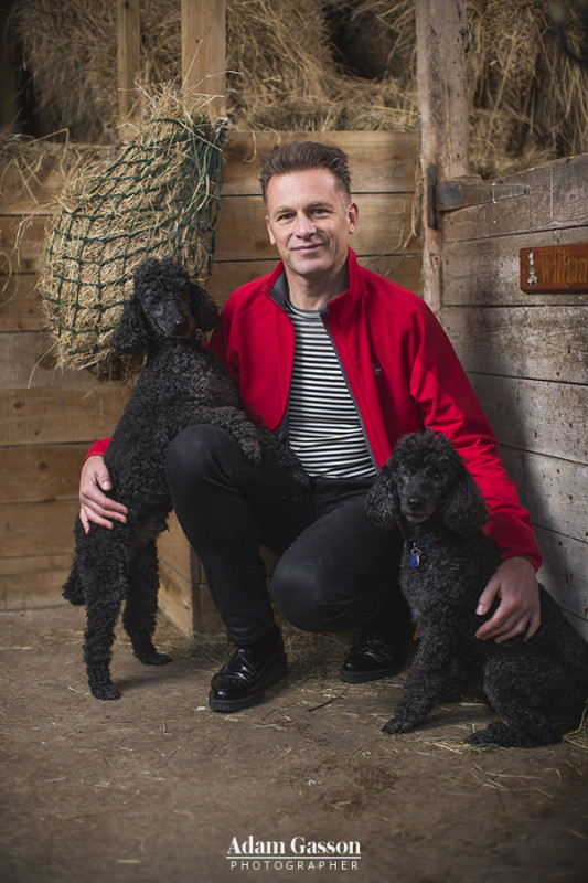 Chris Packham photographed for Specsavers at his home near Southampton, Hampshire. Photo by Adam Gasson / adamgasson.com