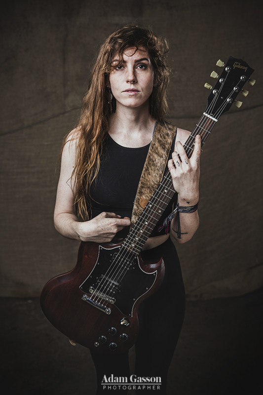 Emma Ruth Rundle from Marriages at Arctangent festival. Photo by Adam Gasson / Total Guitar