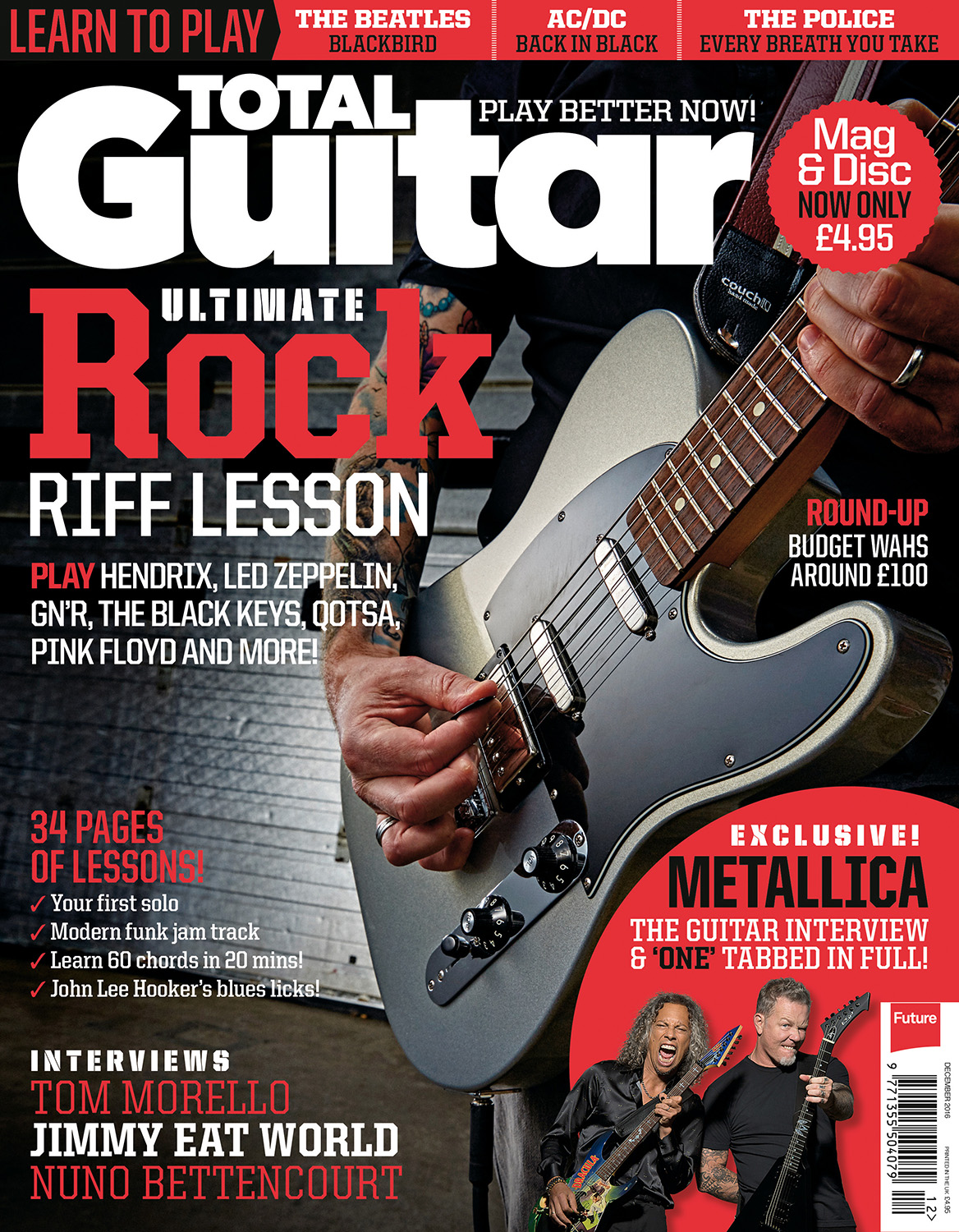 Total Guitar issue 287 cover. Photo by Adam Gasson / adamgasson.com