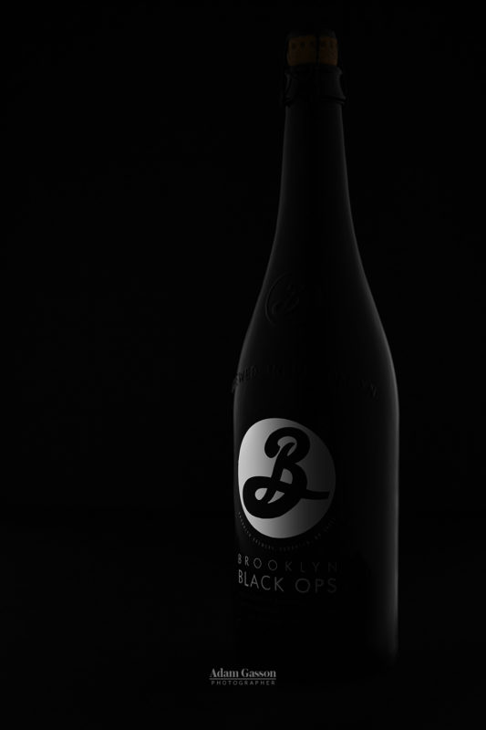 Brooklyn Brewery Black Ops 2014 craft beer.Copyright Adam Gasson. All rights reserved. All images must be credited Adam Gasson / adamgasson.com