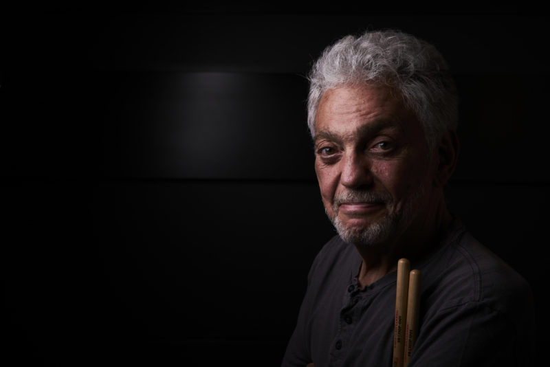 Steve Gadd, photographed at the Royal Gardens Hotel, London, 14 July 2018. Photo by Adam Gasson / adamgasson.com