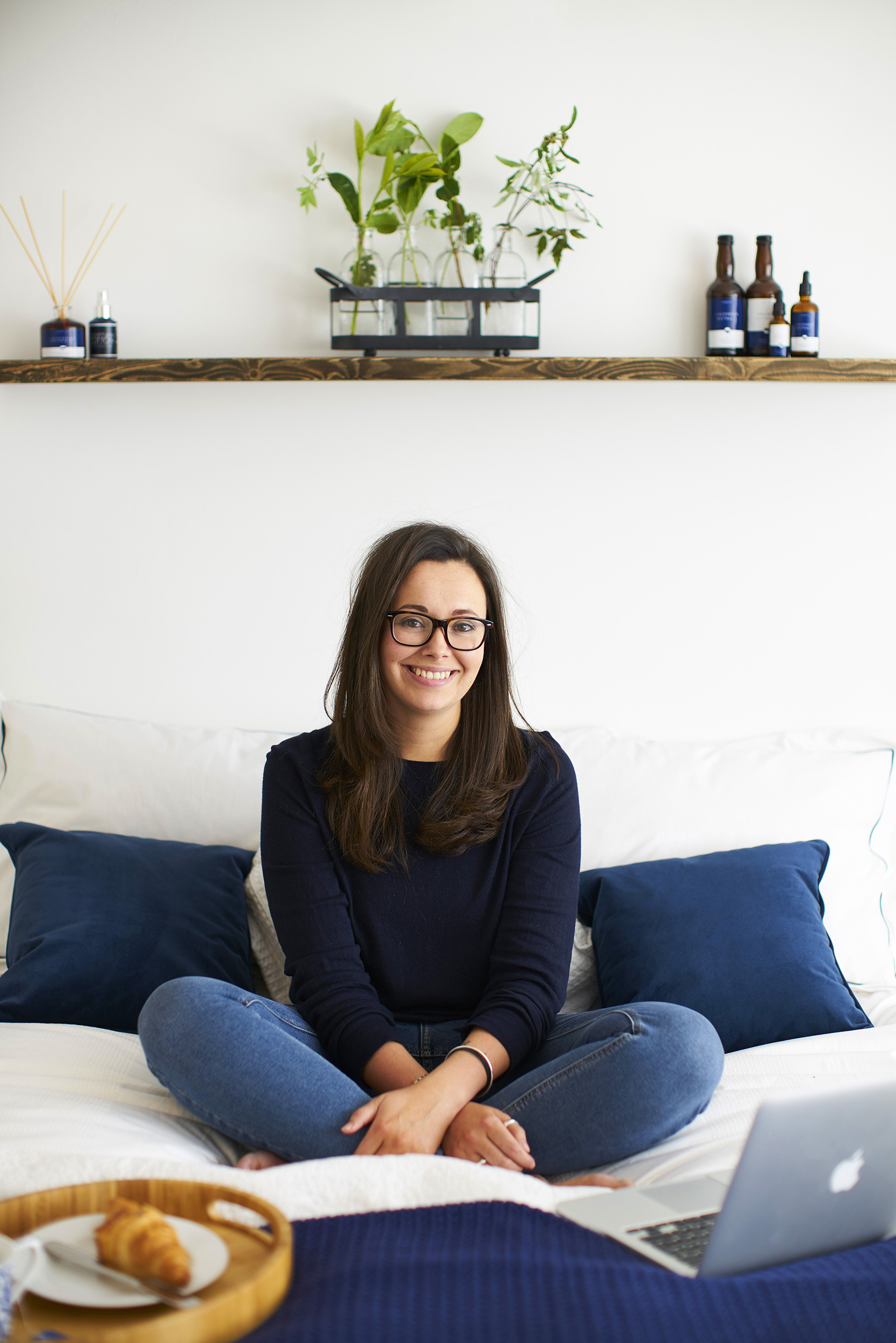 Amy Paris, founder of the London Sleep Company, photographed in Colchester, Essex, 9 May 2018. Photo by Adam Gasson / adamgasson.com
