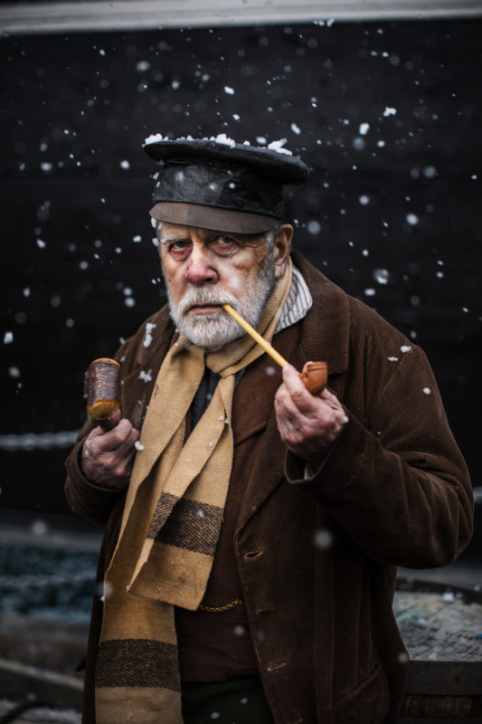 The Ragged Victorians at the ss Great Britain during their Victorian Christmas weekend, 8 December 2018. Photo by Adam Gasson / adamgasson.com