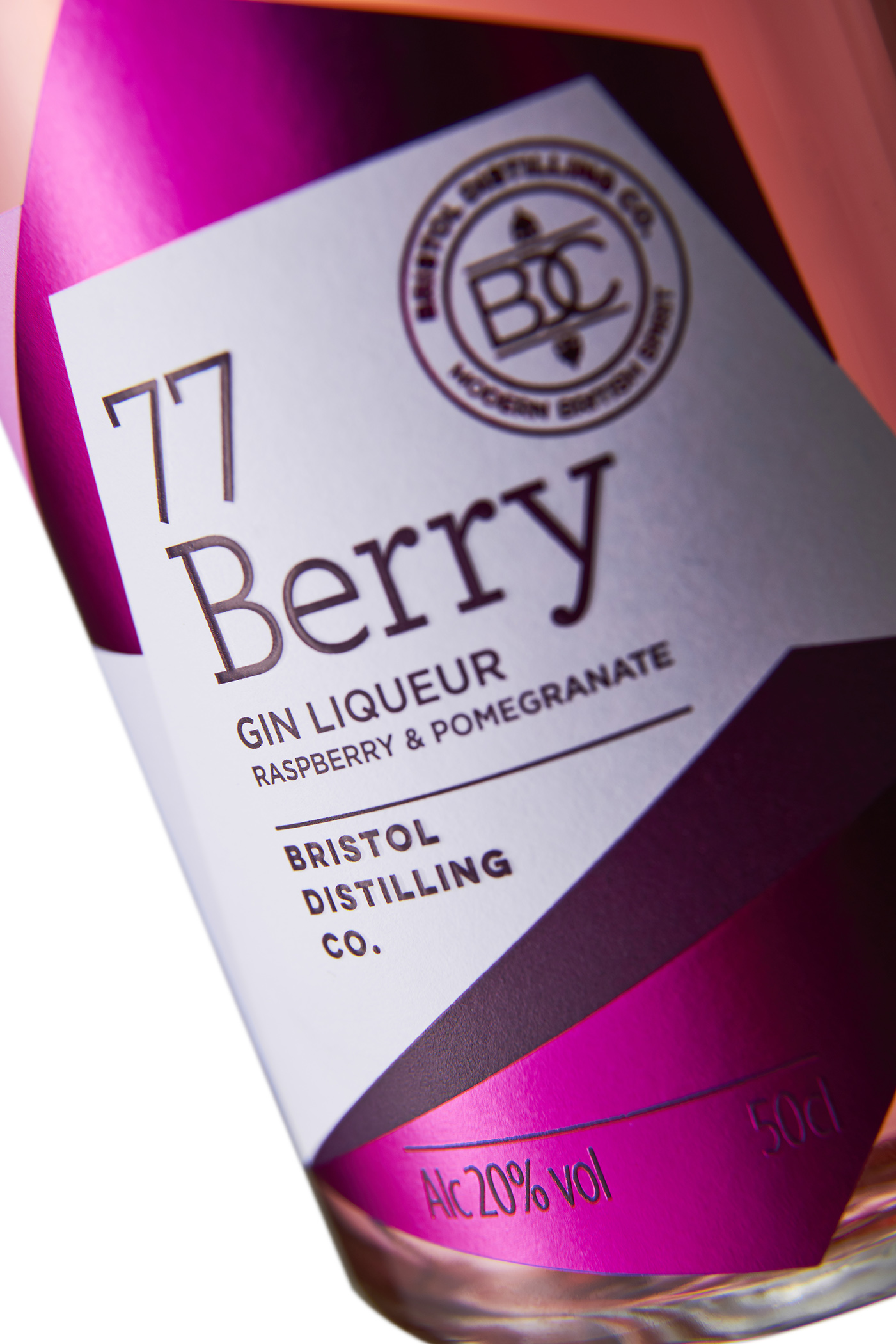 Gin 77 Berry by Bristol Distilling Co. Photo by Adam Gasson / adamgasson.com