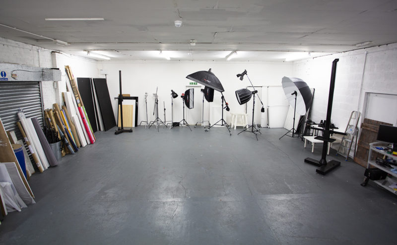 Bristol photo studio interior
