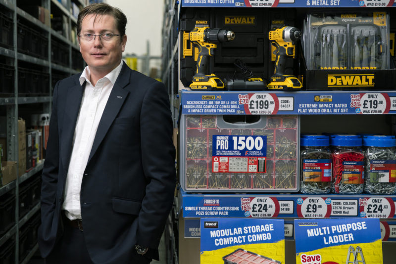 Tool Station Managing Director James McKenzie