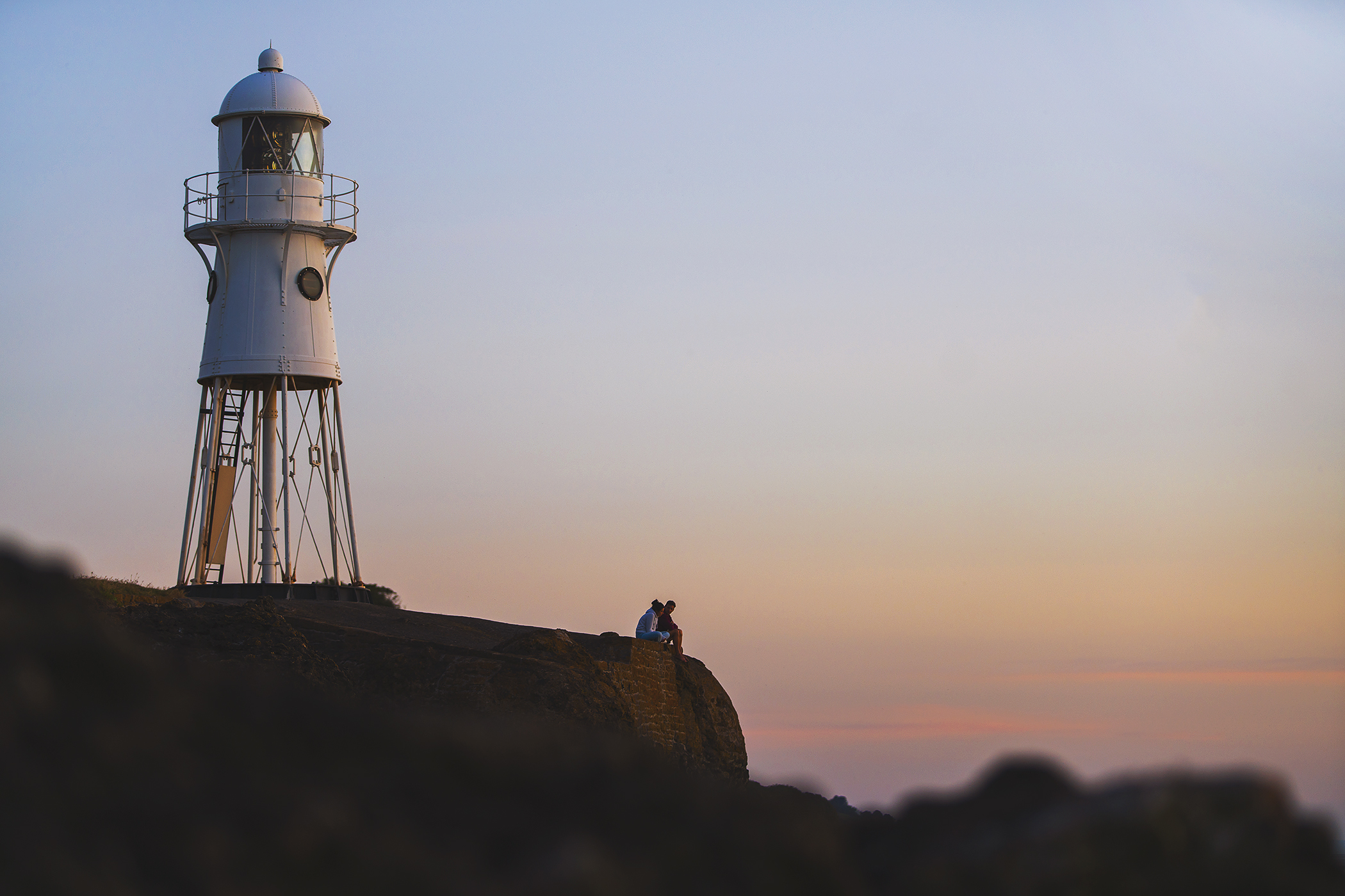 Black Nore lighthouse, Portishead. Photo by Adam Gasson / adamgasson.com