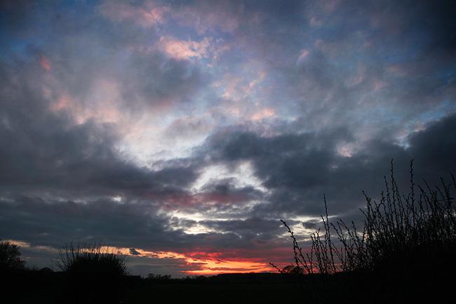 Sunset over Warminster / AdamGasson.com