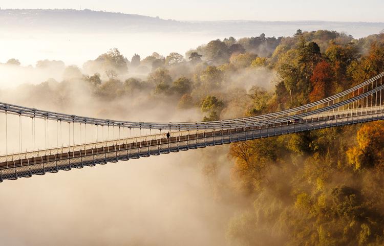 Bristol fog by Adam Gasson