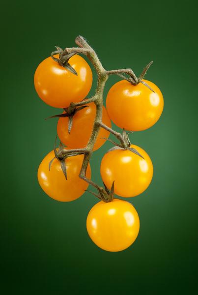 Tomato lighting setup by Adam Gasson