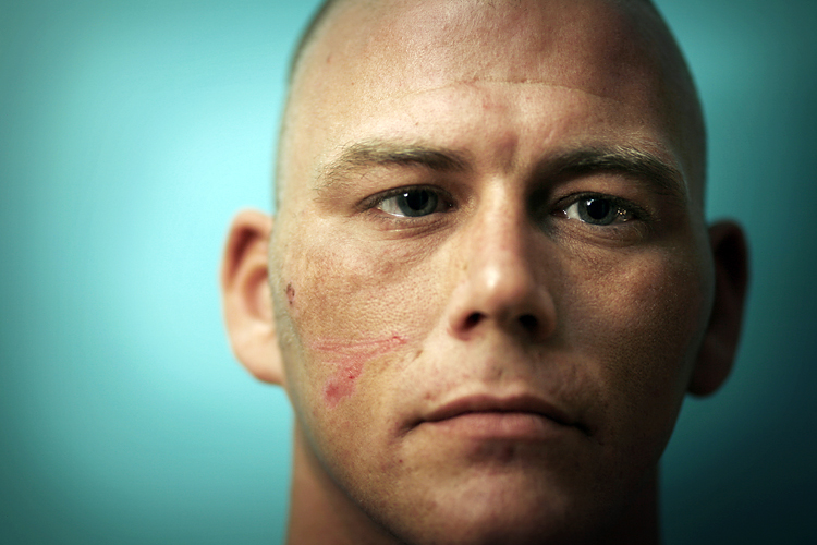 Former Royal Marine Scott Whyte by Adam Gasson