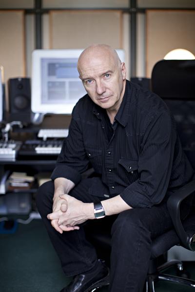 Midge Ure in his home studio by Adam Gasson for Future Music.