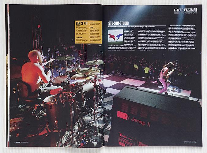 Rhythm Biffy Clyro feature cutting by Adam Gasson / threesongsnoflash.net