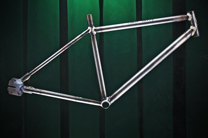 Bicycle Academy frame by Adam Gasson / adamgasson.com