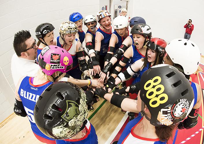 Bristol Roller Derby by Adam Gasson / adamgasson.com