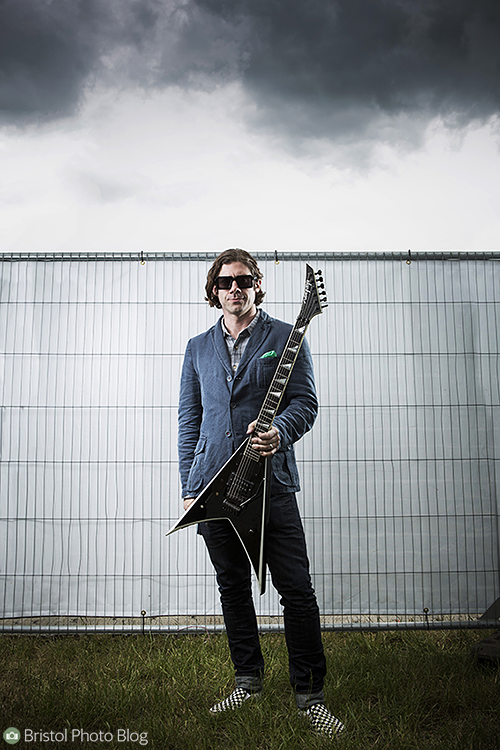 Wes Borland at Download Festival 2013. Photo by Adam Gasson / threesongsnoflash.net