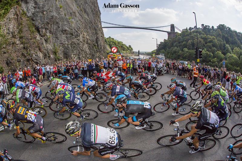 Tour of Britain passes through Bristol