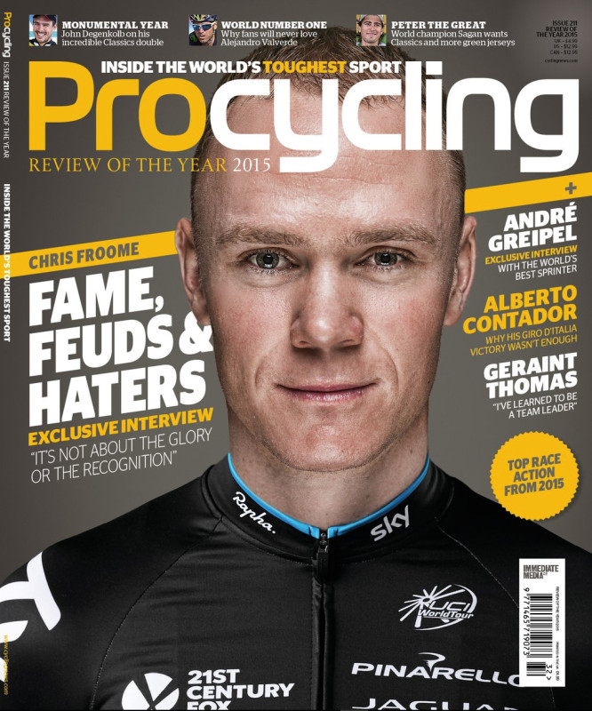 Pro Cycling Chris Froome cover photo