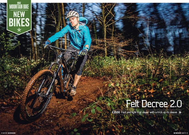 Felt Decree 2.0 review for What Mountain Bike by Adam Gasson / adamgasson.com