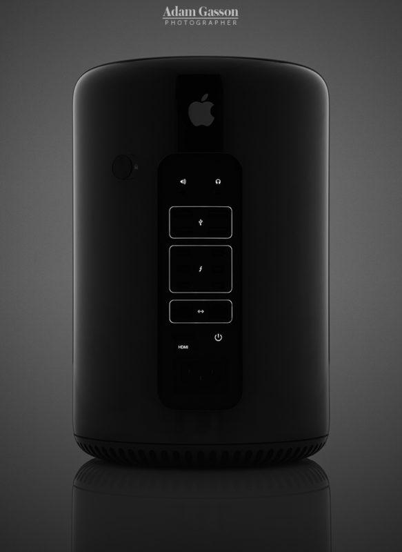 Apple Mac Pro studio photograph for MacFormat. © Adam Gasson / MacFormat / Future Publishing