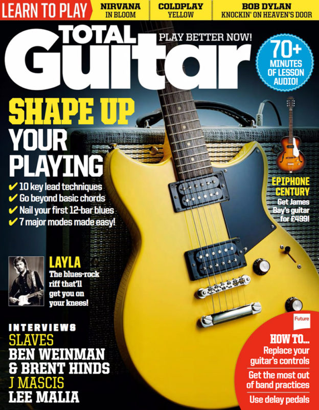 Total Guitar 289 Cover. Photo by Adam Gasson / Total Guitar / Future Publishing