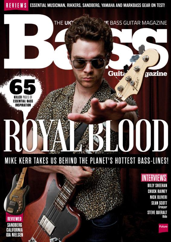 Bass Guitar Magazine 146 Royal Blood by Adam Gasson / adamgasson.com