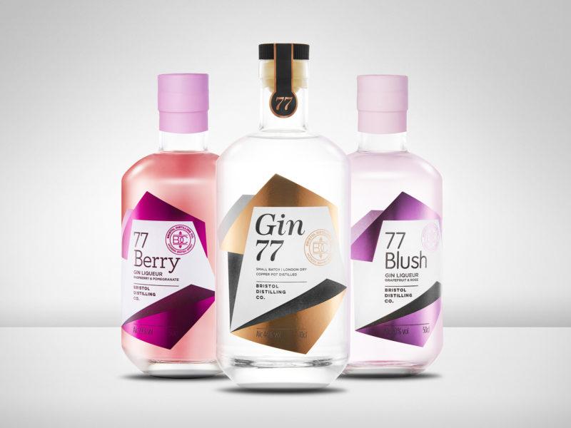 Gin 77 by Bristol Distilling Co. Photo by Adam Gasson / adamgasson.com