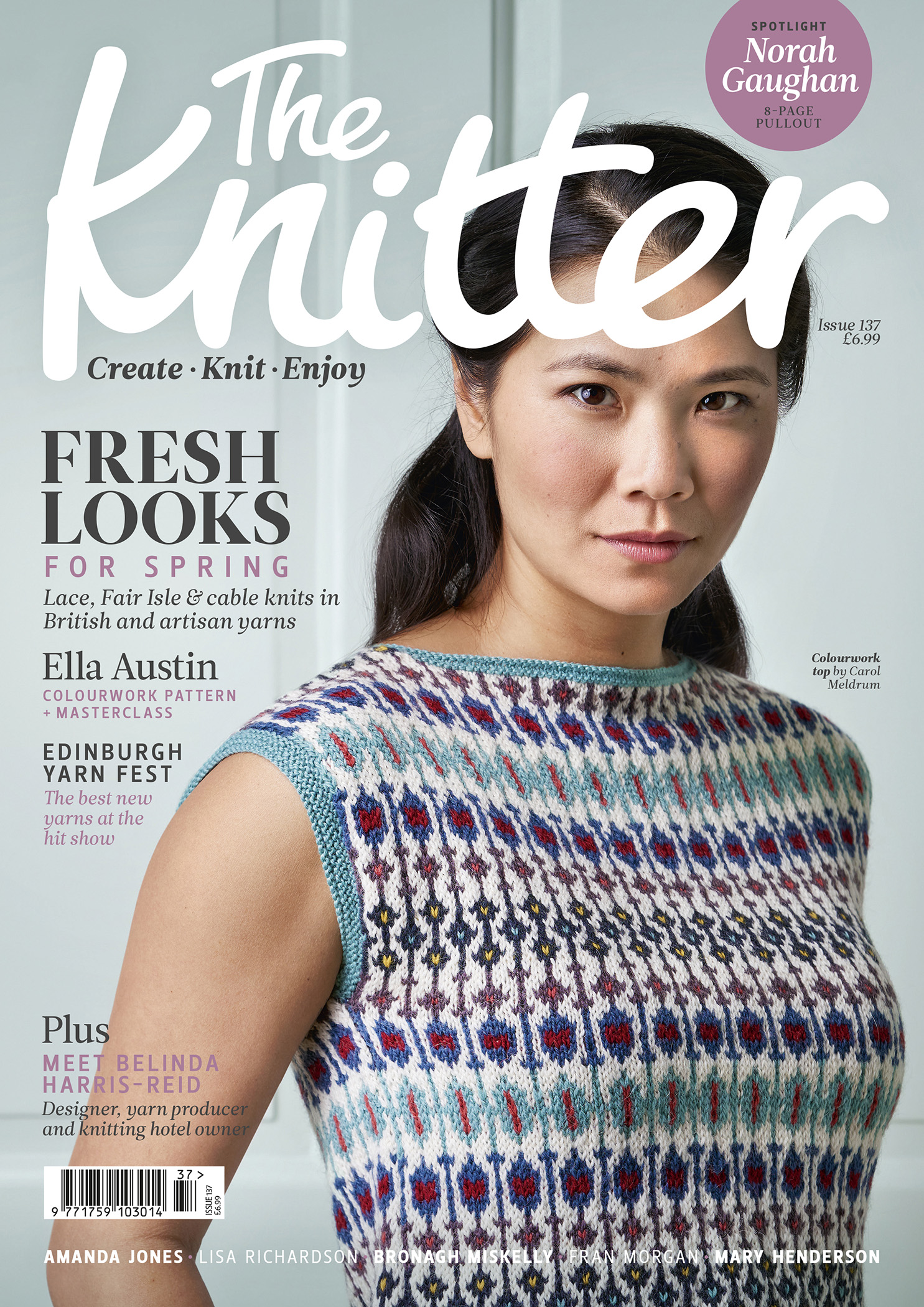 Cover of The Knitter magazine issue 137