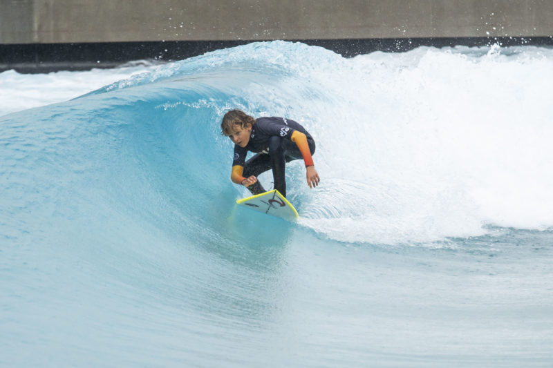 The Wave surfing lake