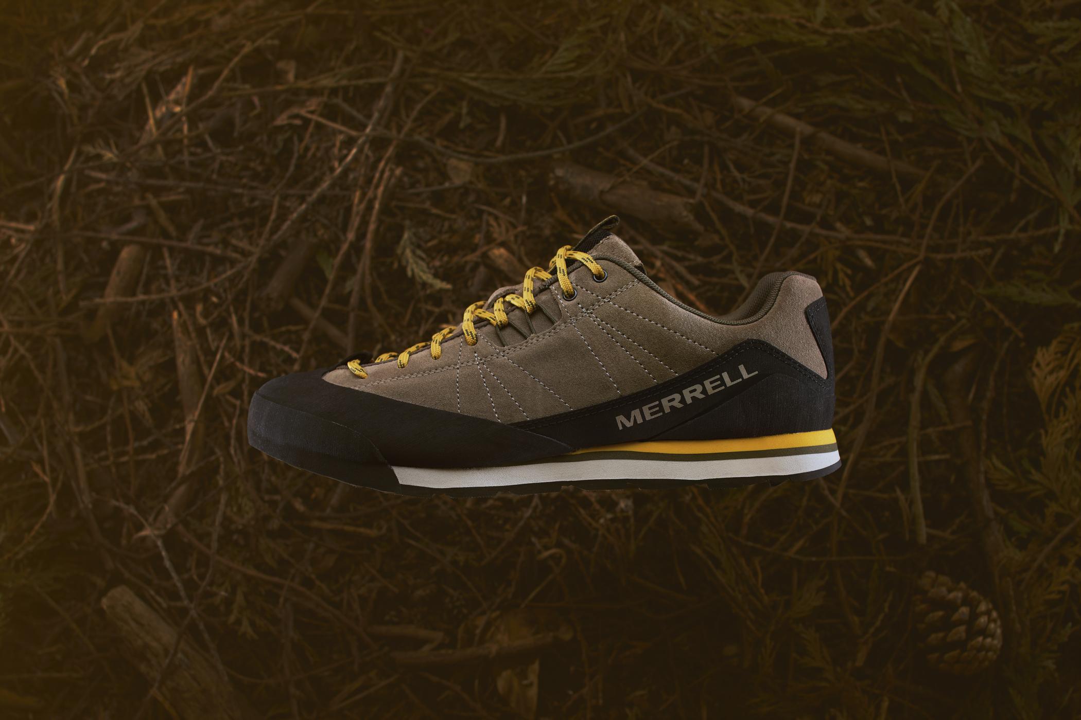 Merrell Catalyst Suede shoe. Photo by Adam Gasson / adamgasson.com