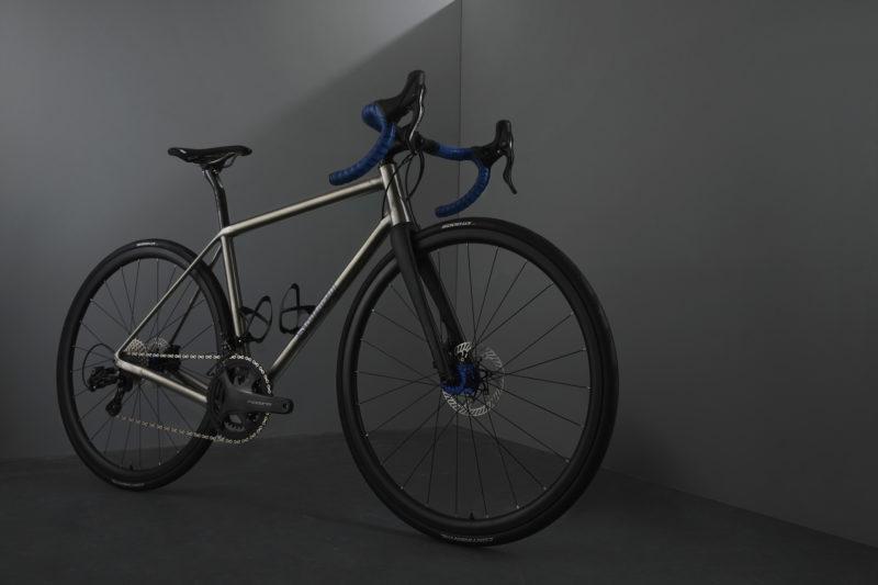 Sturdy Cycles titanium bike 3d printed studio photograph
